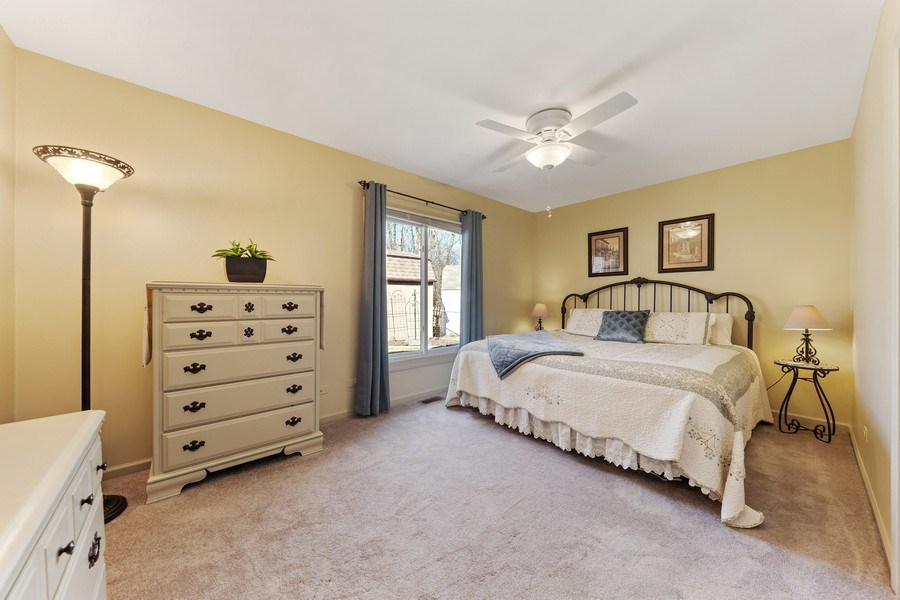 Real Estate Photography - 21W510 Buckingham Road, Gen Ellyn, IL, 60137 - Bedroom