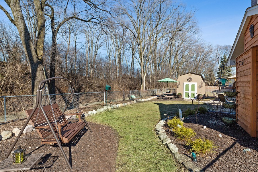 Real Estate Photography - 21W510 Buckingham Road, Gen Ellyn, IL, 60137 - Back Yard