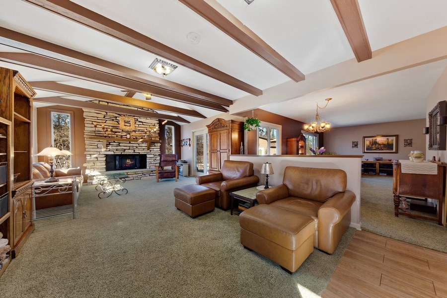 Real Estate Photography - 21W510 Buckingham Road, Gen Ellyn, IL, 60137 - Family Room