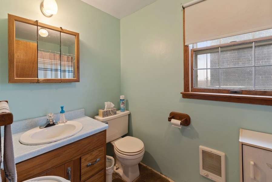 Real Estate Photography - 1412 E. Corning Road, Beecher, IL, 60401 - Master Bathroom