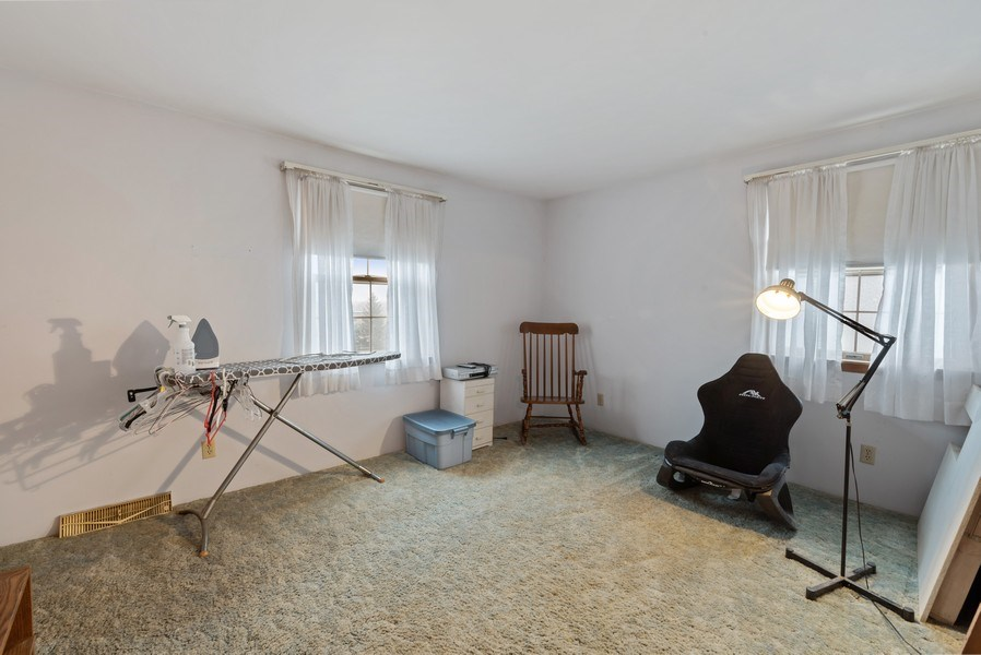 Real Estate Photography - 1412 E. Corning Road, Beecher, IL, 60401 - 3rd Bedroom