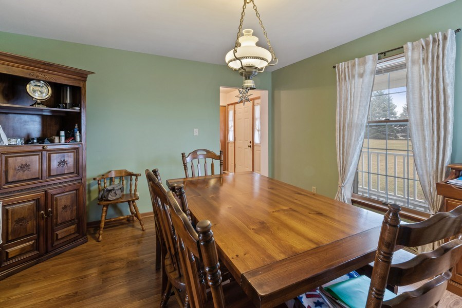Real Estate Photography - 1412 E. Corning Road, Beecher, IL, 60401 - Dining Area