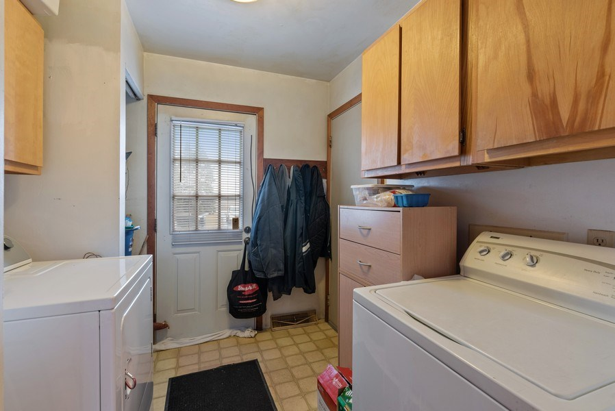 Real Estate Photography - 1412 E. Corning Road, Beecher, IL, 60401 - Laundry Room