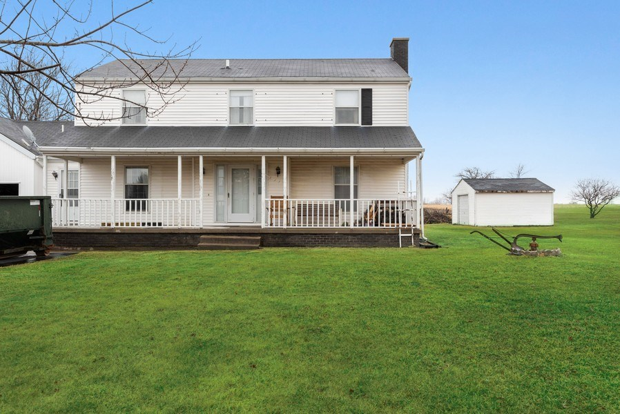 Real Estate Photography - 1412 E. Corning Road, Beecher, IL, 60401 - Front View