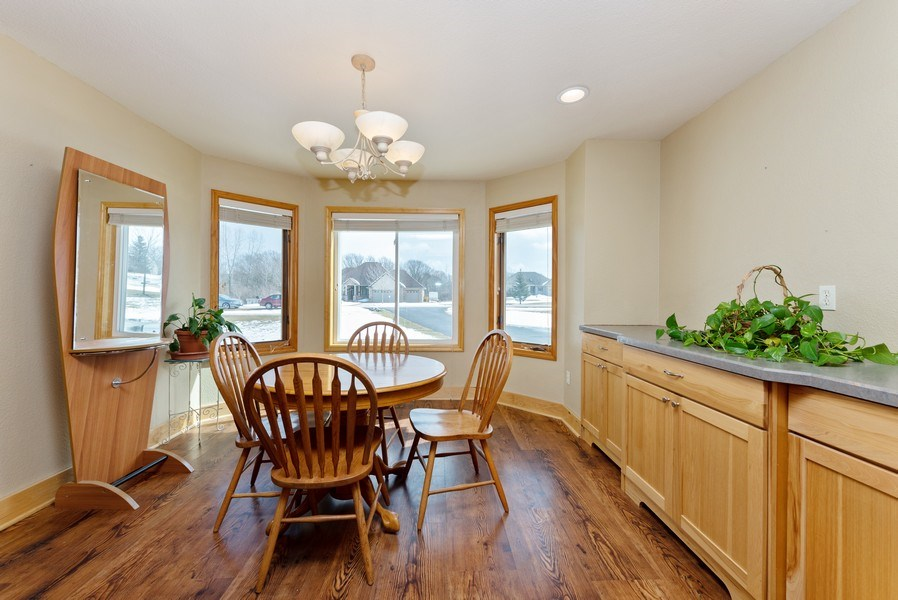 Real Estate Photography - N5375 Loraine Ct., Fredonia, WI, 53021 - Dining Room