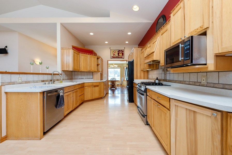 Real Estate Photography - N5375 Loraine Ct., Fredonia, WI, 53021 - Kitchen