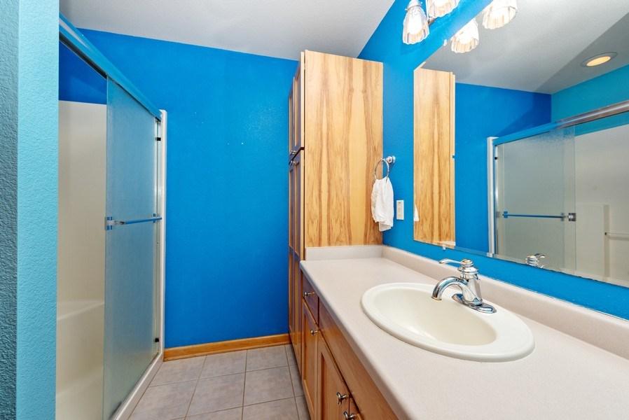 Real Estate Photography - N5375 Loraine Ct., Fredonia, WI, 53021 - Bathroom