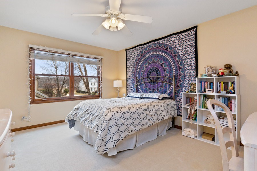 Real Estate Photography - 8495 DOLFOR COVE, BURR RIDGE, IL, 60527 - 2nd Bedroom
