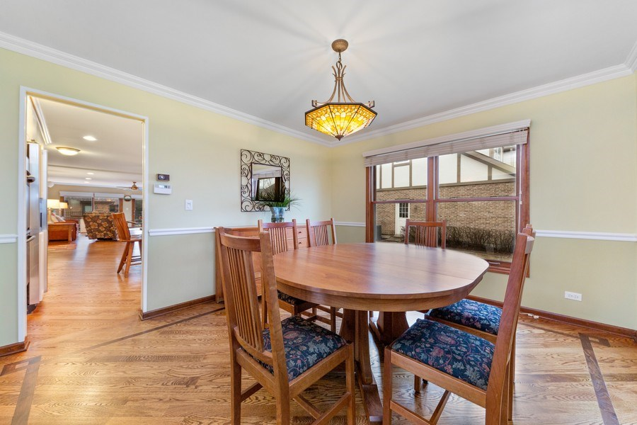 Real Estate Photography - 8495 DOLFOR COVE, BURR RIDGE, IL, 60527 - Dining Room