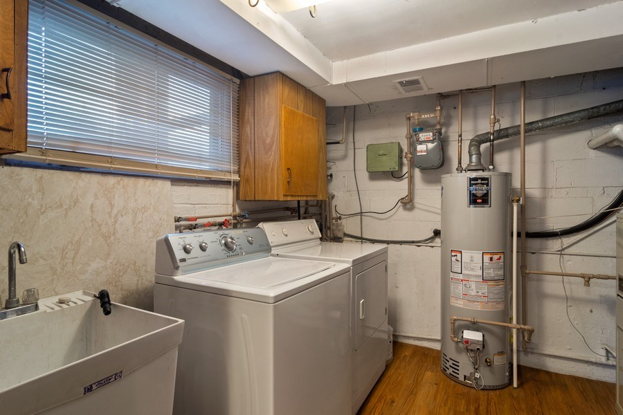 Real Estate Photography - 707 W Dresser Dr, Mount Prospect, IL, 60056 - Laundry - Utility Room