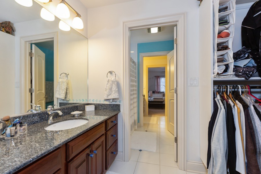 Real Estate Photography - 744 Farley Place, Downers Grove, IL, 60515 - 3rd Bathroom