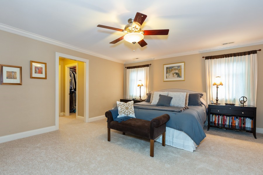 Real Estate Photography - 744 Farley Place, Downers Grove, IL, 60515 - Master Bedroom