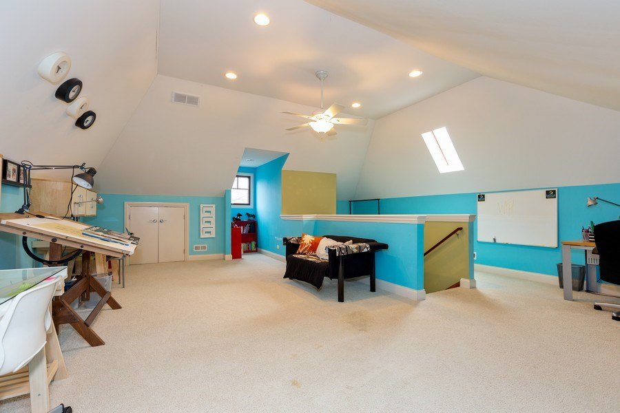 Real Estate Photography - 744 Farley Place, Downers Grove, IL, 60515 - Bonus Room