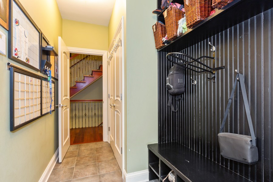 Real Estate Photography - 744 Farley Place, Downers Grove, IL, 60515 - Mudroom