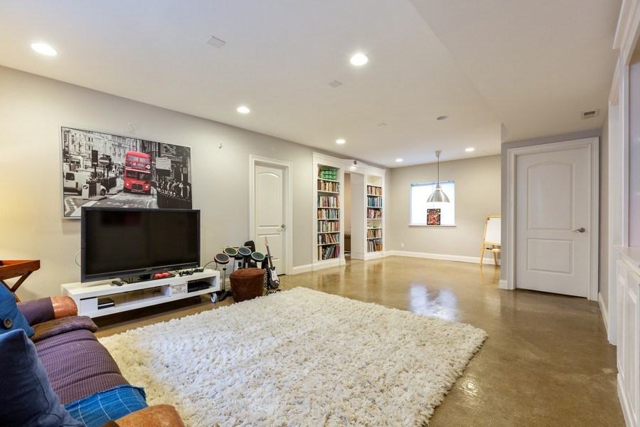 Real Estate Photography - 744 Farley Place, Downers Grove, IL, 60515 - Basement