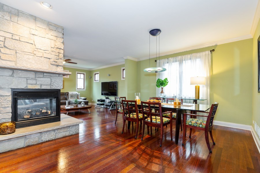 Real Estate Photography - 744 Farley Place, Downers Grove, IL, 60515 - Breakfast Area