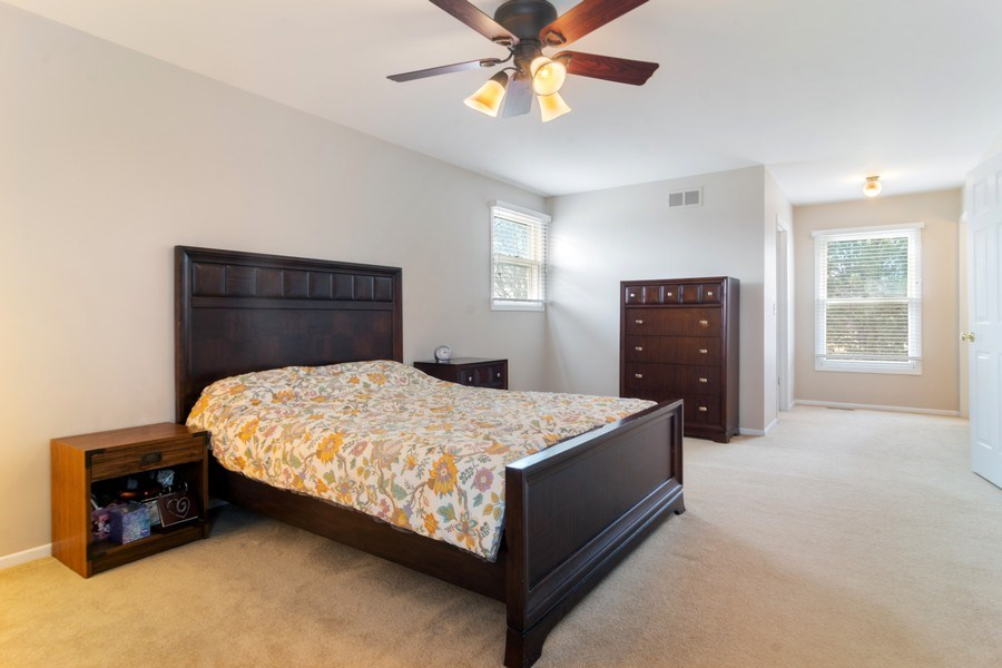 Real Estate Photography - 330 Ronnie Drive, Buffalo Grove, IL, 60089 - Master Bedroom