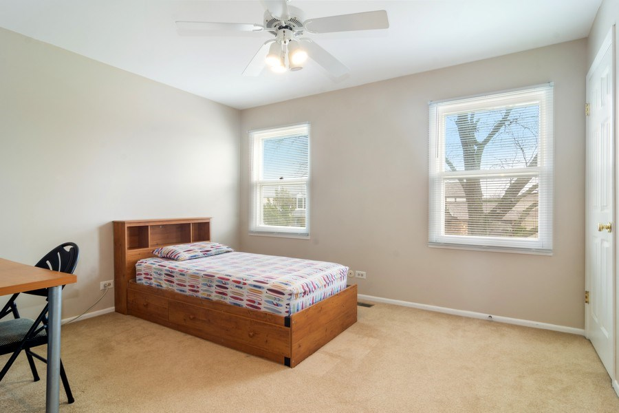 Real Estate Photography - 330 Ronnie Drive, Buffalo Grove, IL, 60089 - 3rd Bedroom