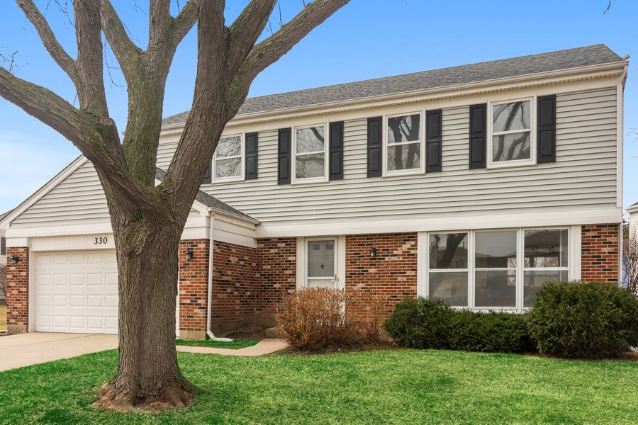 Real Estate Photography - 330 Ronnie Drive, Buffalo Grove, IL, 60089 - Front View