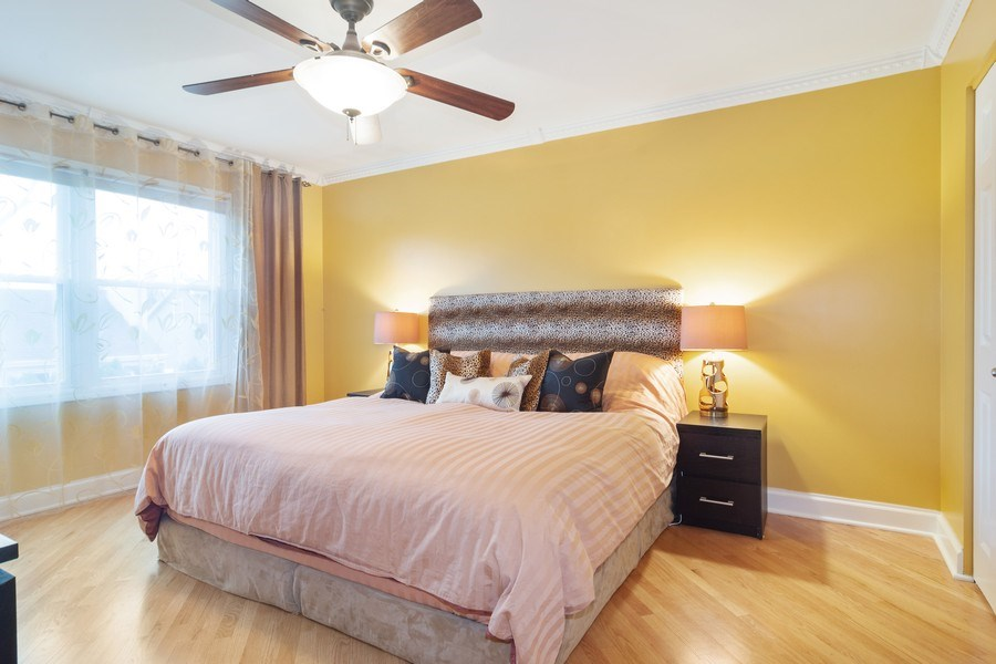 Real Estate Photography - 983 Shady Tree Lane, Wheeling, IL, 60090 - Master Bedroom