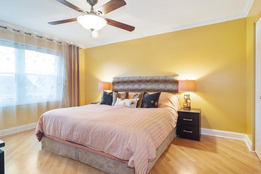 Real Estate Photography - 983 Shady Tree Lane, Wheeling, IL, 60090 - Master Bedroom