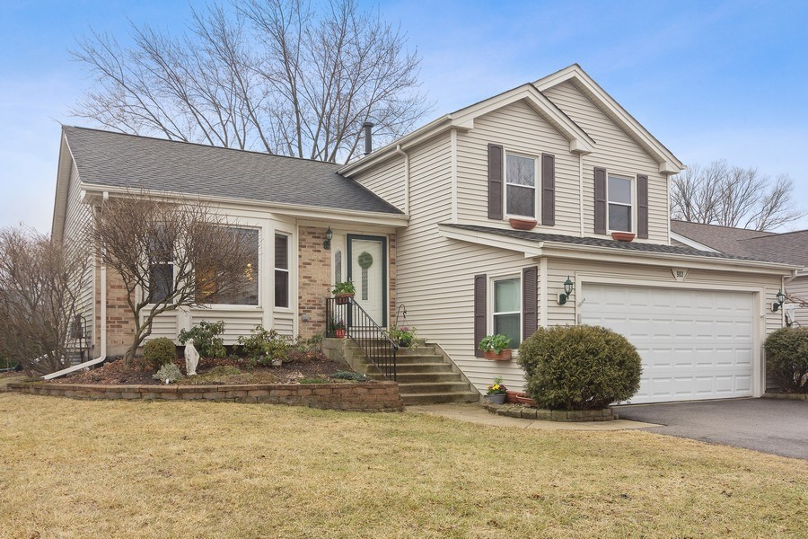 Real Estate Photography - 983 Shady Tree Lane, Wheeling, IL, 60090 - Front View
