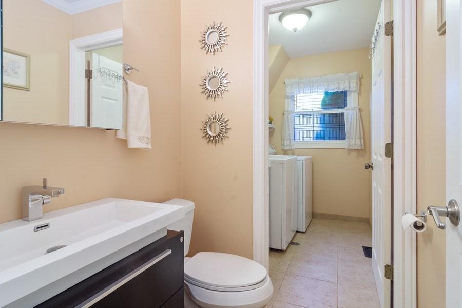Real Estate Photography - 983 Shady Tree Lane, Wheeling, IL, 60090 - Half Bath