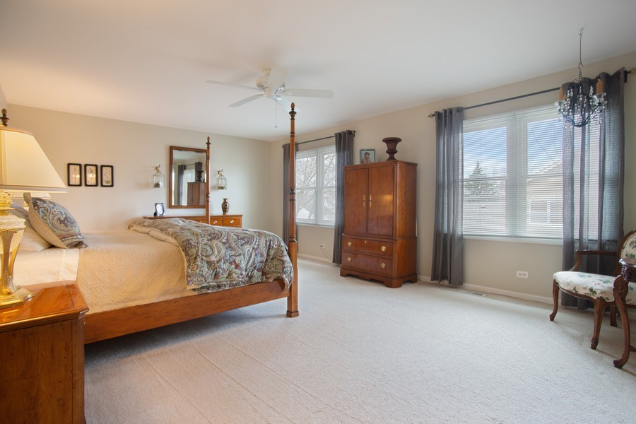 Real Estate Photography - 204 Plum Grove Circle, Arlington Heights, IL, 60004 - Master Bedroom
