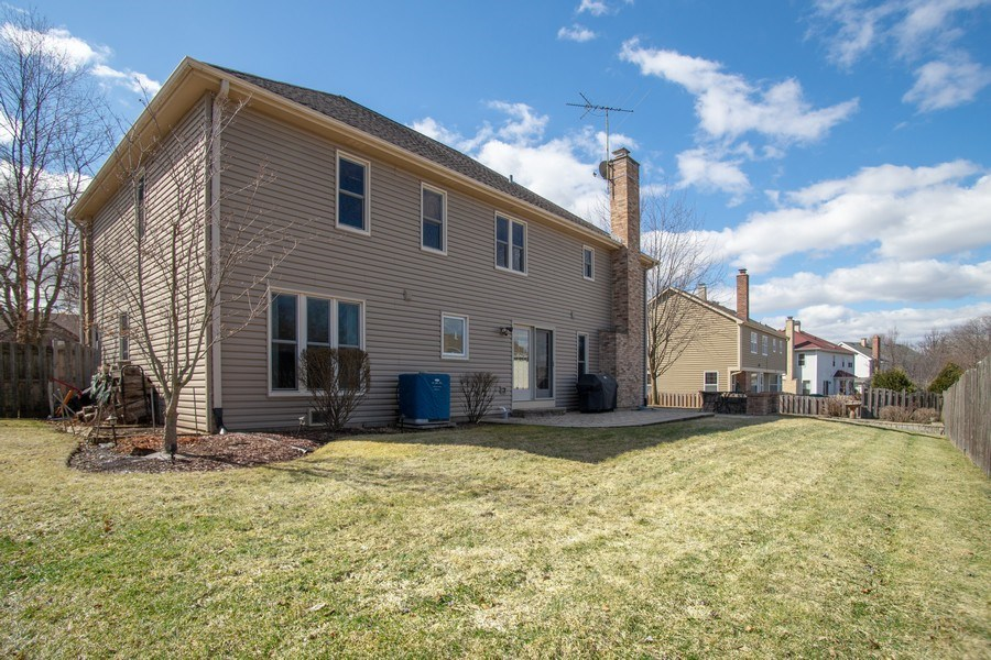 Real Estate Photography - 204 Plum Grove Circle, Arlington Heights, IL, 60004 - Rear View