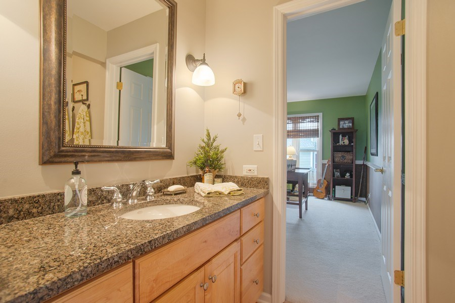 Real Estate Photography - 204 Plum Grove Circle, Arlington Heights, IL, 60004 - Half Bath
