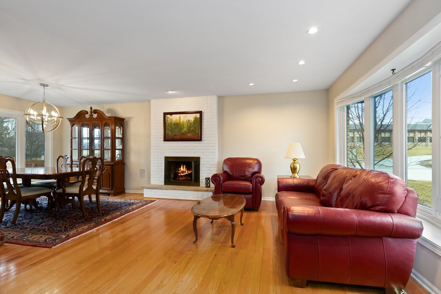 Real Estate Photography - 58 Golf Ave., Clarendon Hills, IL, 60514 - Living Room