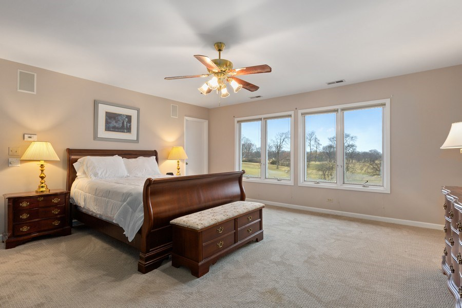 Real Estate Photography - 58 Golf Ave., Clarendon Hills, IL, 60514 - Master Bedroom