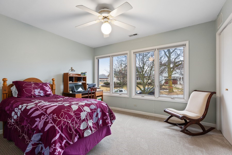 Real Estate Photography - 58 Golf Ave., Clarendon Hills, IL, 60514 - Bedroom 2