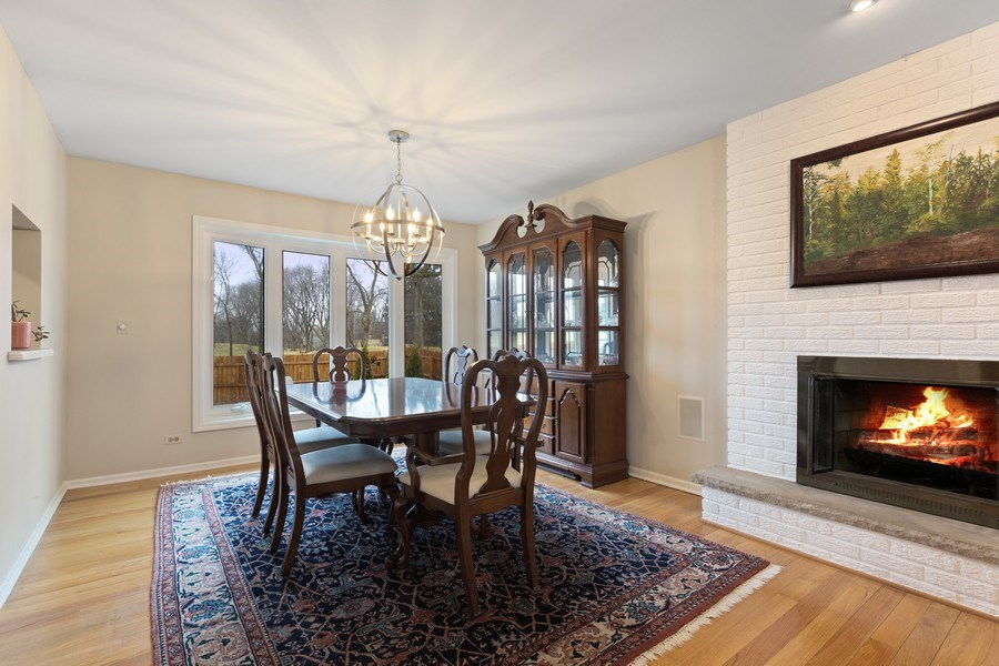 Real Estate Photography - 58 Golf Ave., Clarendon Hills, IL, 60514 - Dining Room