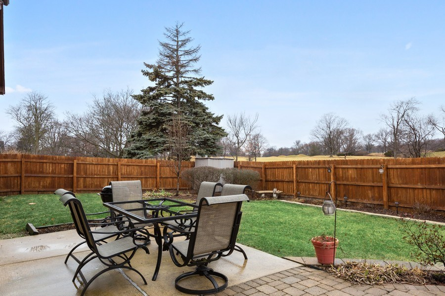 Real Estate Photography - 58 Golf Ave., Clarendon Hills, IL, 60514 - Back Yard