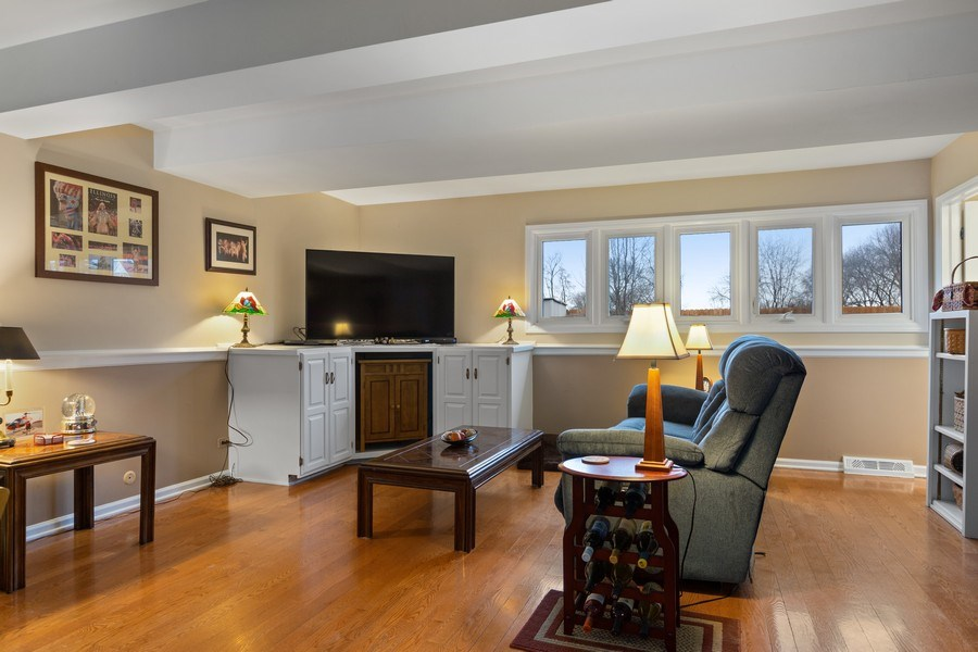 Real Estate Photography - 58 Golf Ave., Clarendon Hills, IL, 60514 - Family Room