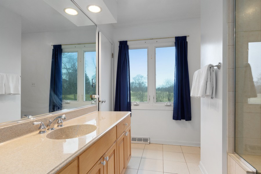 Real Estate Photography - 58 Golf Ave., Clarendon Hills, IL, 60514 - Bathroom 2