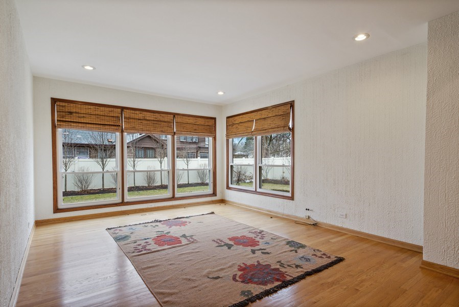 Real Estate Photography - 3117 Sandy, Glenview, IL, 60026 - Family Room