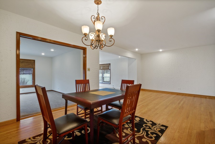Real Estate Photography - 3117 Sandy, Glenview, IL, 60026 - Dining Room