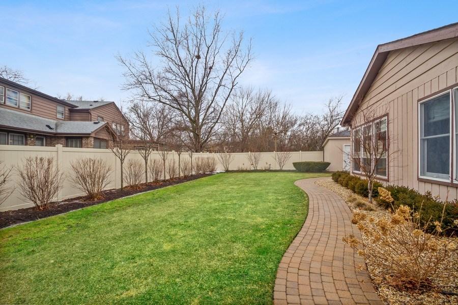 Real Estate Photography - 3117 Sandy, Glenview, IL, 60026 - Back Yard