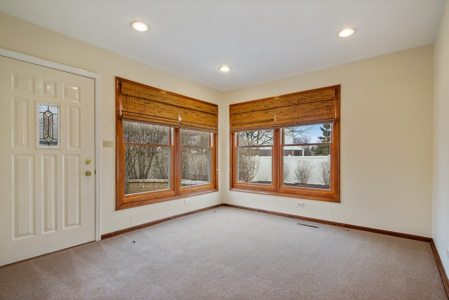 Real Estate Photography - 3117 Sandy, Glenview, IL, 60026 - First Floor Office