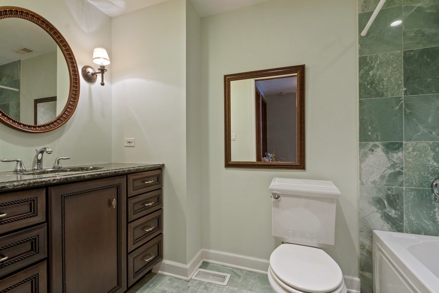 Real Estate Photography - 3117 Sandy, Glenview, IL, 60026 - Bathroom