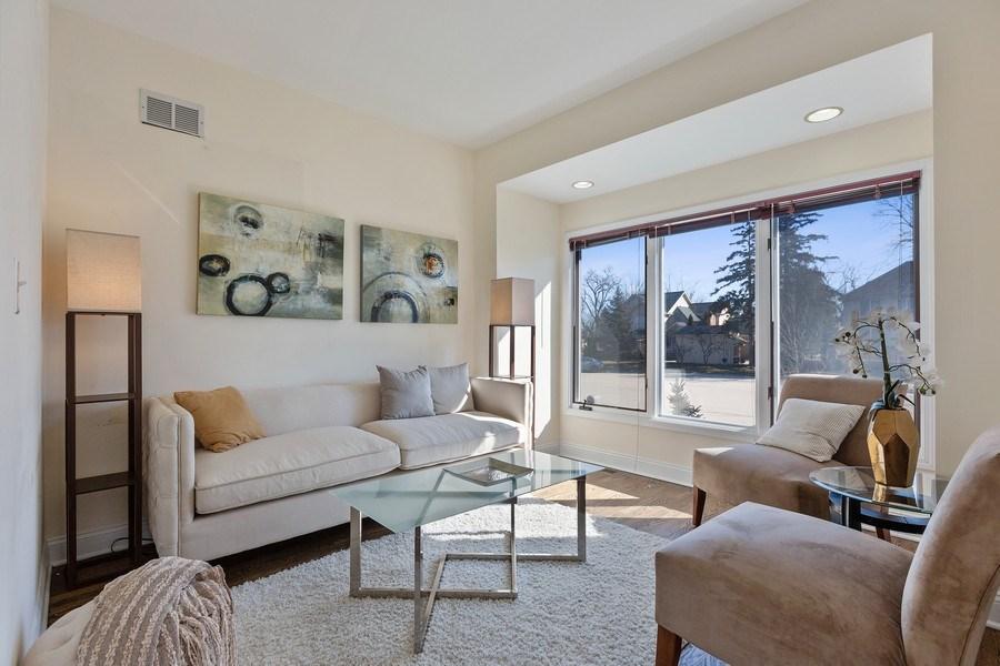 Real Estate Photography - 7726 Sugarbush Lane, Willowbrook, IL, 60527 - Living Room