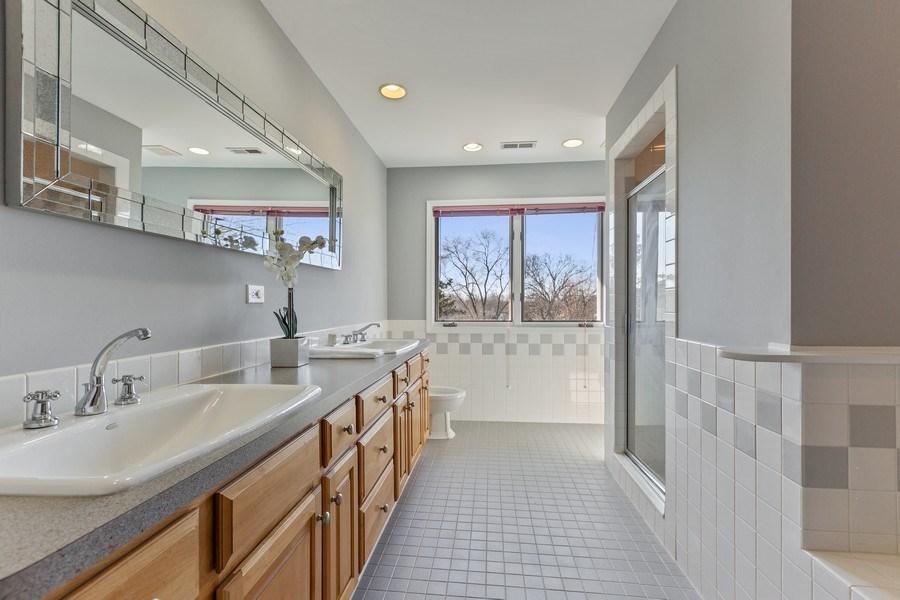 Real Estate Photography - 7726 Sugarbush Lane, Willowbrook, IL, 60527 - Master Bathroom