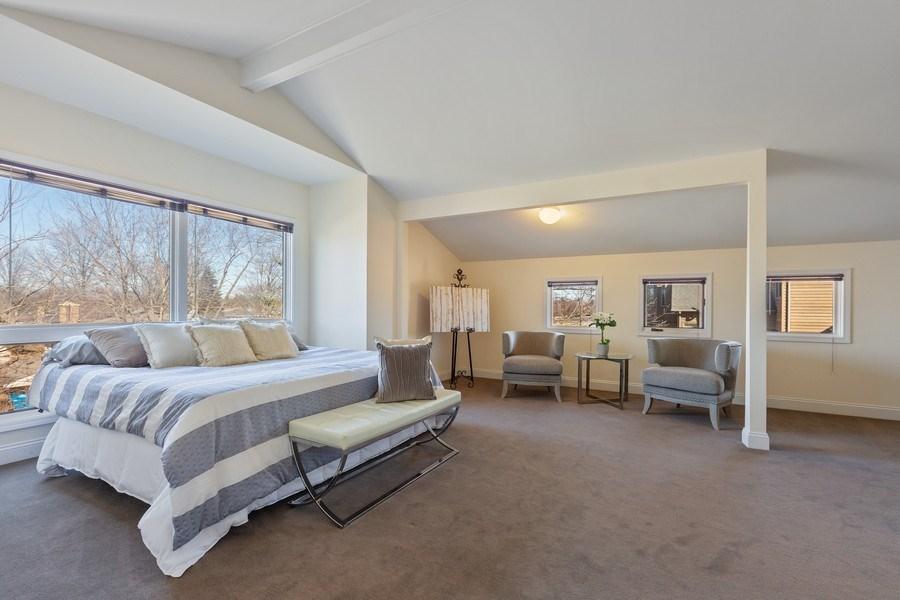 Real Estate Photography - 7726 Sugarbush Lane, Willowbrook, IL, 60527 - Bedroom 4