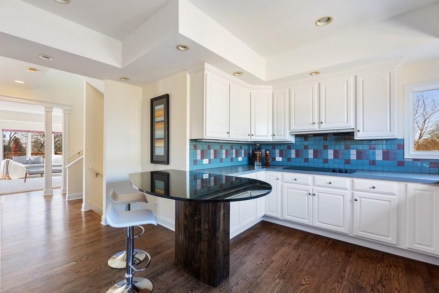 Real Estate Photography - 7726 Sugarbush Lane, Willowbrook, IL, 60527 - Kitchen (alternate view)