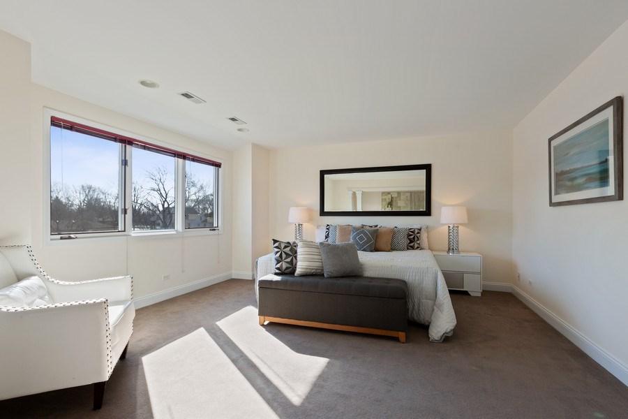 Real Estate Photography - 7726 Sugarbush Lane, Willowbrook, IL, 60527 - Master Bedroom (alternate view)