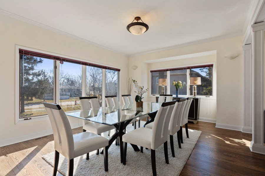 Real Estate Photography - 7726 Sugarbush Lane, Willowbrook, IL, 60527 - Dining Room (alternate view)