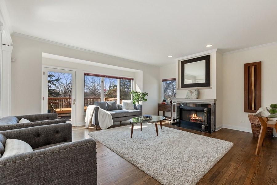 Real Estate Photography - 7726 Sugarbush Lane, Willowbrook, IL, 60527 - Family Room