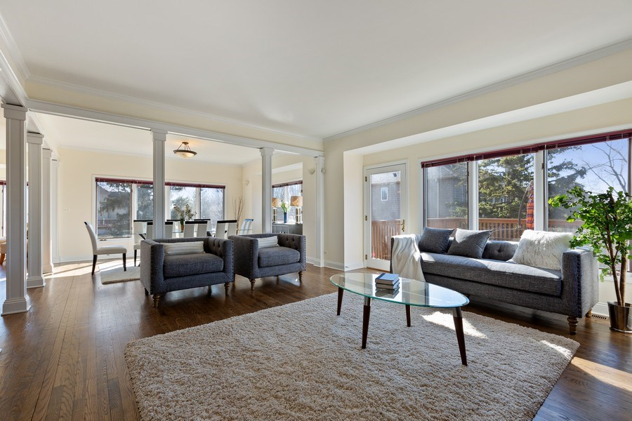 Real Estate Photography - 7726 Sugarbush Lane, Willowbrook, IL, 60527 - Family Room (alternate view)